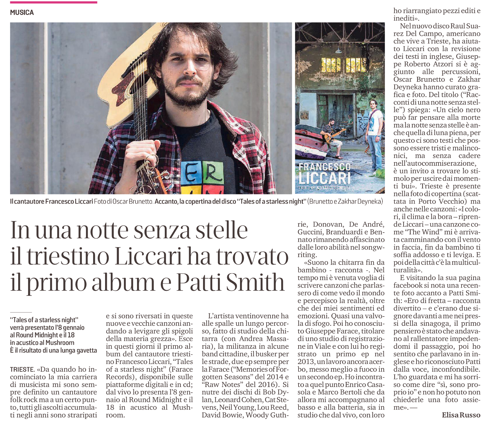 Intervista Francesco Liccari